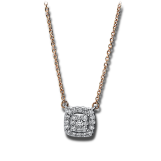 Brogle Selection Halskette mit Anhänger Illusion 4F786RW8-1