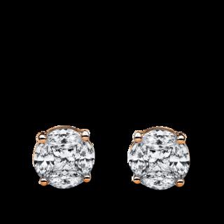 Brogle Selection Ohrstecker Illusion 2B528R4-1