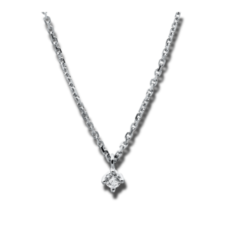Brogle Selection Halskette mit Anhänger Promise 4A305W4-9