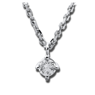 Brogle Selection Halskette mit Anhänger Promise 4A307W8-8