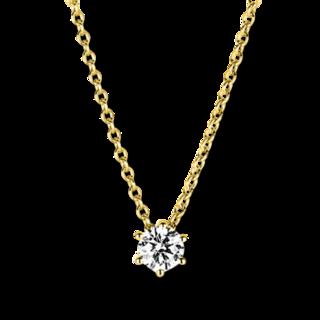 Brogle Selection Halskette mit Anhänger Promise 4A376G8-3