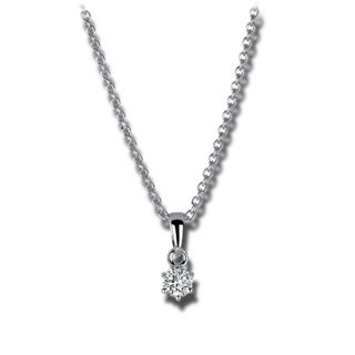 Brogle Selection Halskette mit Anhänger Promise 4A387W8-1