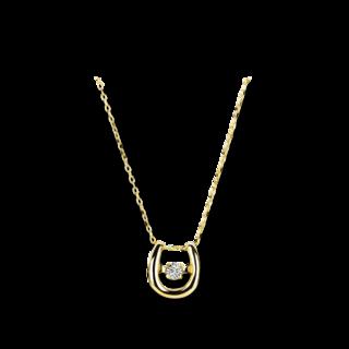 Brogle Selection Halskette mit Anhänger Promise 4A528G0-1