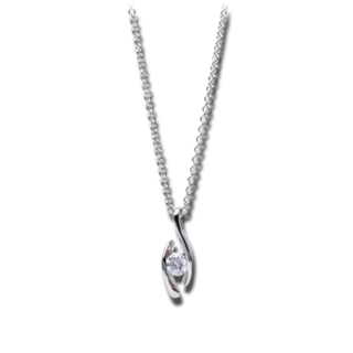 Brogle Selection Halskette mit Anhänger Promise 4A578W8-5