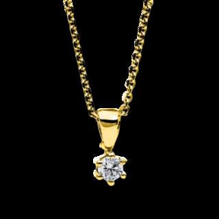 Brogle Selection Halskette mit Anhänger Promise 4A708G4-1