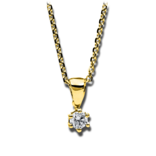 Brogle Selection Halskette mit Anhänger Promise 4A709G4-1
