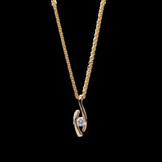 Brogle Selection Halskette mit Anhänger Promise 4B296G8-4