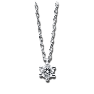 Brogle Selection Halskette mit Anhänger Promise 4B415W4-2