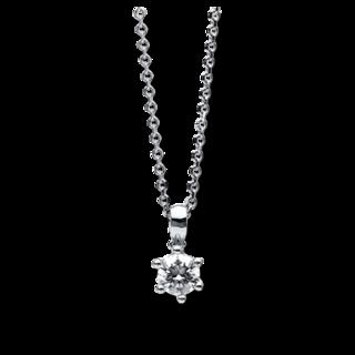 Brogle Selection Halskette mit Anhänger Promise 4B601W4-1