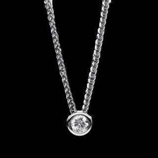 Brogle Selection Halskette mit Anhänger Promise 4B612W4-3