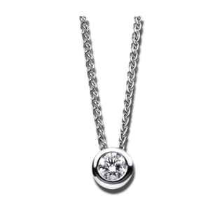 Brogle Selection Halskette mit Anhänger Promise 4B613W4-2