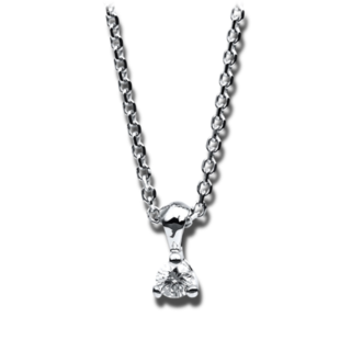 Brogle Selection Halskette mit Anhänger Promise 4B625W4-1