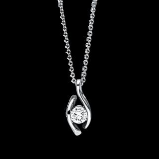 Brogle Selection Halskette mit Anhänger Promise 4B673W8-3