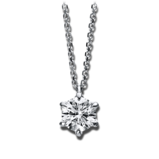 Brogle Selection Halskette mit Anhänger Promise 4D047W8-4