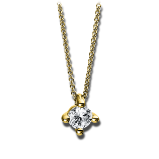 Brogle Selection Halskette mit Anhänger Promise 4D270G4-7