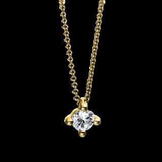 Brogle Selection Halskette mit Anhänger Promise 4D270G8-3