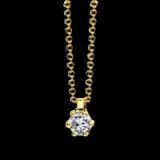 Brogle Selection Halskette mit Anhänger Promise 4D278G4-5