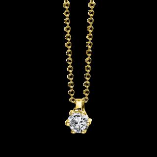 Brogle Selection Halskette mit Anhänger Promise 4D278G8-1