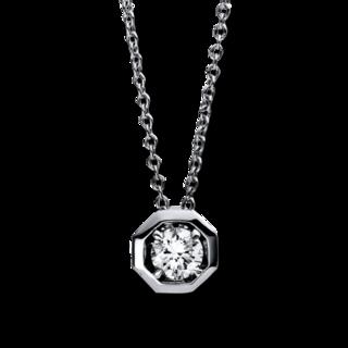 Brogle Selection Halskette mit Anhänger Promise 4E016W8-2