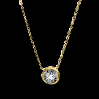 Brogle Selection Halskette mit Anhänger Promise 4E212G8-1