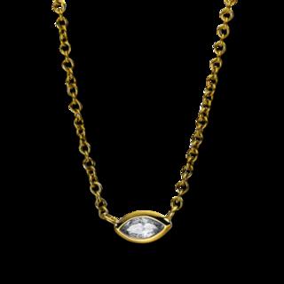 Brogle Selection Halskette mit Anhänger Promise 4E264G8-1