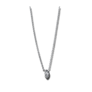 Brogle Selection Halskette mit Anhänger Promise 4E437W8-1