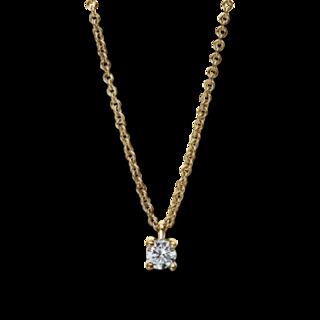 Brogle Selection Halskette mit Anhänger Promise 4E455G8-2