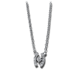 Brogle Selection Halskette mit Anhänger Promise 4E604W8-1
