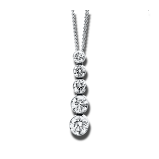 Brogle Selection Halskette mit Anhänger Promise 4E814W8-1