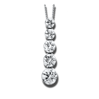Brogle Selection Halskette mit Anhänger Promise 4E816W8-1