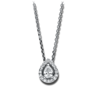 Brogle Selection Halskette mit Anhänger Promise 4F113W8-1