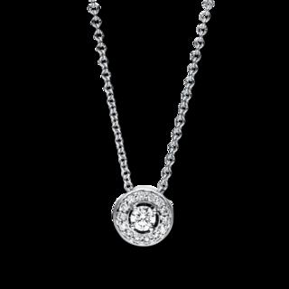 Brogle Selection Halskette mit Anhänger Promise 4F180W8-1