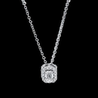 Brogle Selection Halskette mit Anhänger Promise 4F357W8-2
