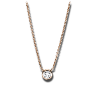 Brogle Selection Halskette mit Anhänger Promise 4F655R8-1