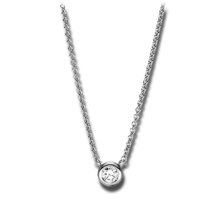 Brogle Selection Halskette mit Anhänger Promise 4F655W8-1