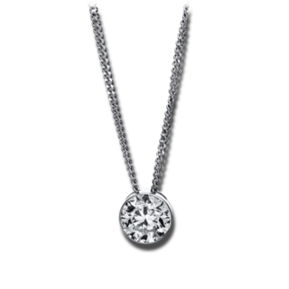 Brogle Selection Halskette mit Anhänger Promise 4G044W8-1