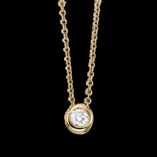 Brogle Selection Halskette mit Anhänger Promise LW30-0833170-BGSI