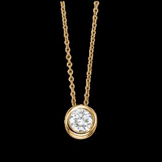 Brogle Selection Halskette mit Anhänger Promise LW30-0833170-PGVS