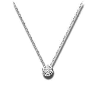 Brogle Selection Halskette mit Anhänger Promise LW30-0833171-PGVS