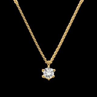 Brogle Selection Halskette mit Anhänger Promise LW30-0869170-BGSI