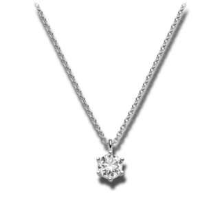 Brogle Selection Halskette mit Anhänger Promise LW30-0869171-DGSI