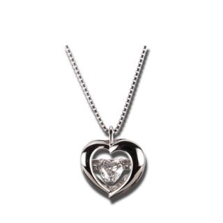 Brogle Selection Halskette mit Anhänger Promise Herz 4A097P0-2