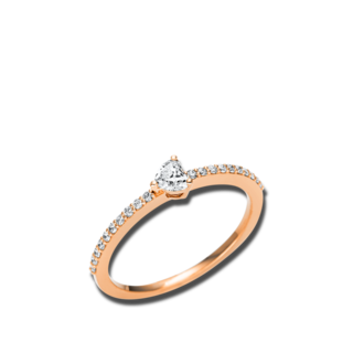 Brogle Selection Solitairering Promise Herz 1U610R8