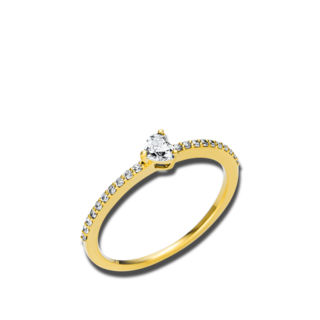 Brogle Selection Solitairering Promise Herz 1U611G8