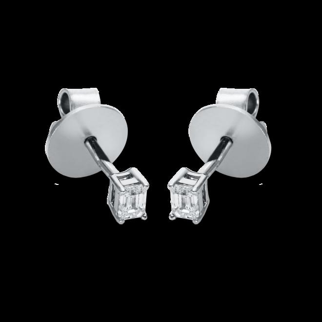 Ohrstecker Brogle Selection Promise aus 750 Weißgold mit 2 Diamanten (2 x 0,1 Karat) bei Brogle