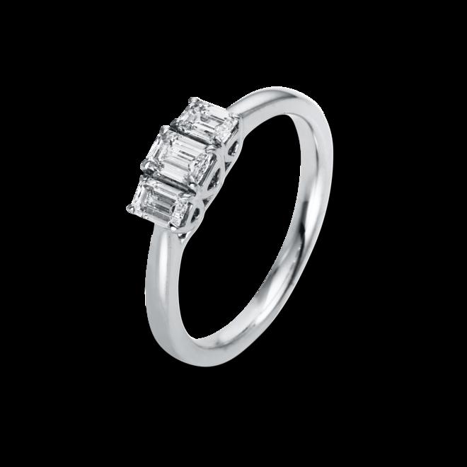 Ring Brogle Selection Promise aus 750 Weißgold mit 3 Diamanten (0,64 Karat) bei Brogle