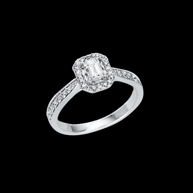 Ring Brogle Selection Promise aus 750 Weißgold mit 43 Diamanten (0,68 Karat) bei Brogle
