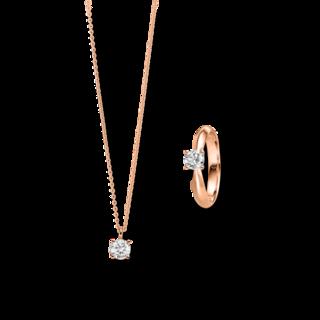 Brogle Selection Ring Promise Set aus Kette und LW-SET1-RK-RG-0.1GSI