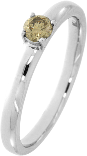 Solitairering Brogle Selection Promise aus 750 Weißgold mit 1 Brillant (0,23 Karat)