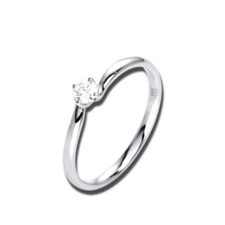 Brogle Selection Solitairering Promise 1J100W8